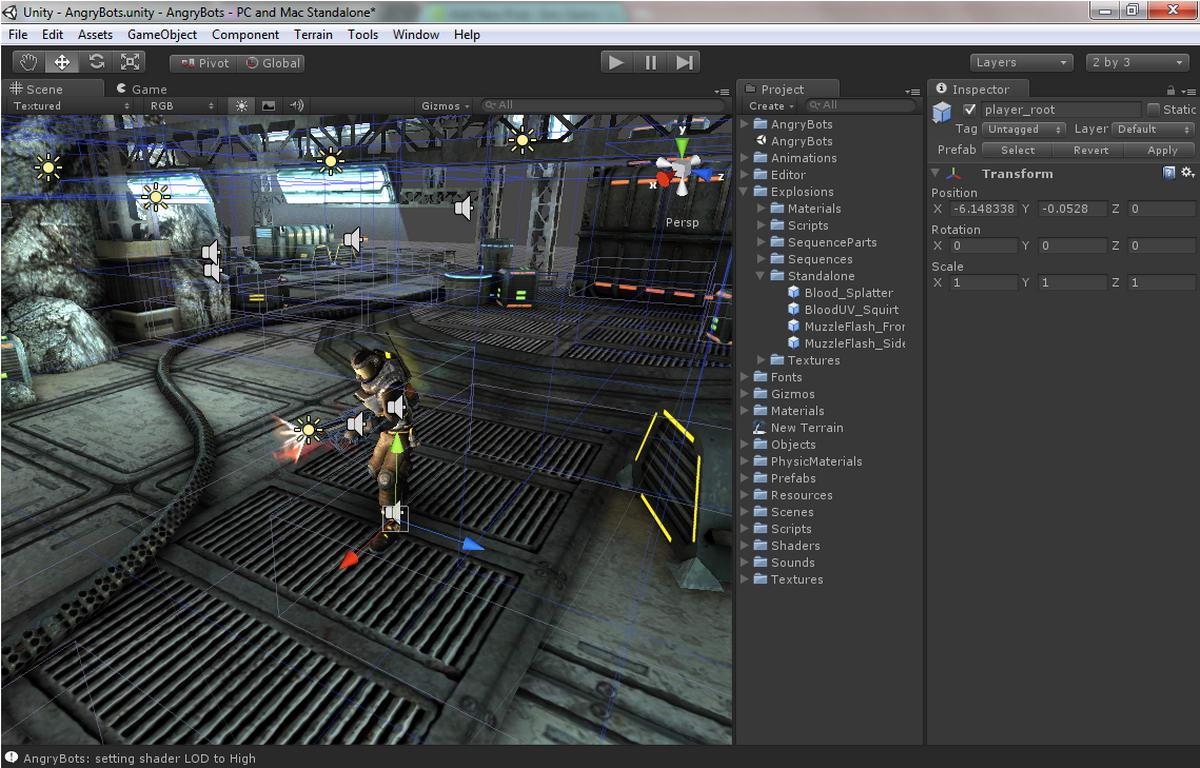Выпущен патч для Unity 5.2.2. - Конструкторы, системы разработки игр - Создать игру, Конструкторы игр, Игровые движки
